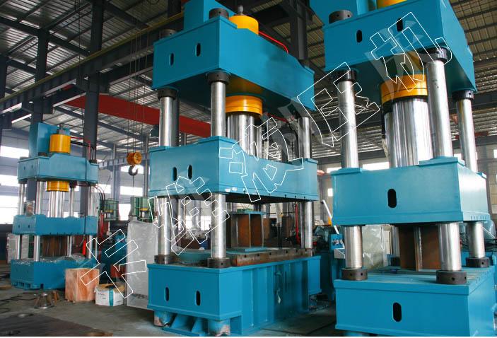 315t吨砂轮成型四柱液压机