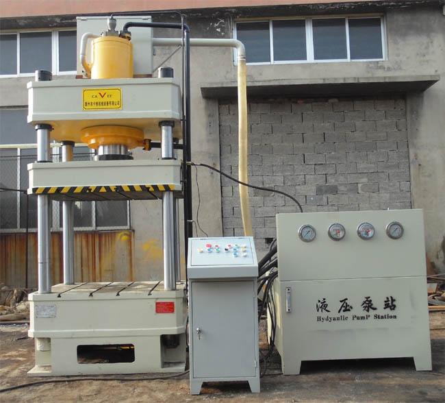 树脂井盖液压机