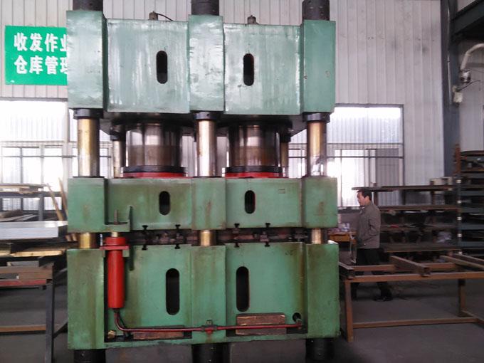 2000Tl六柱钢木门压花机