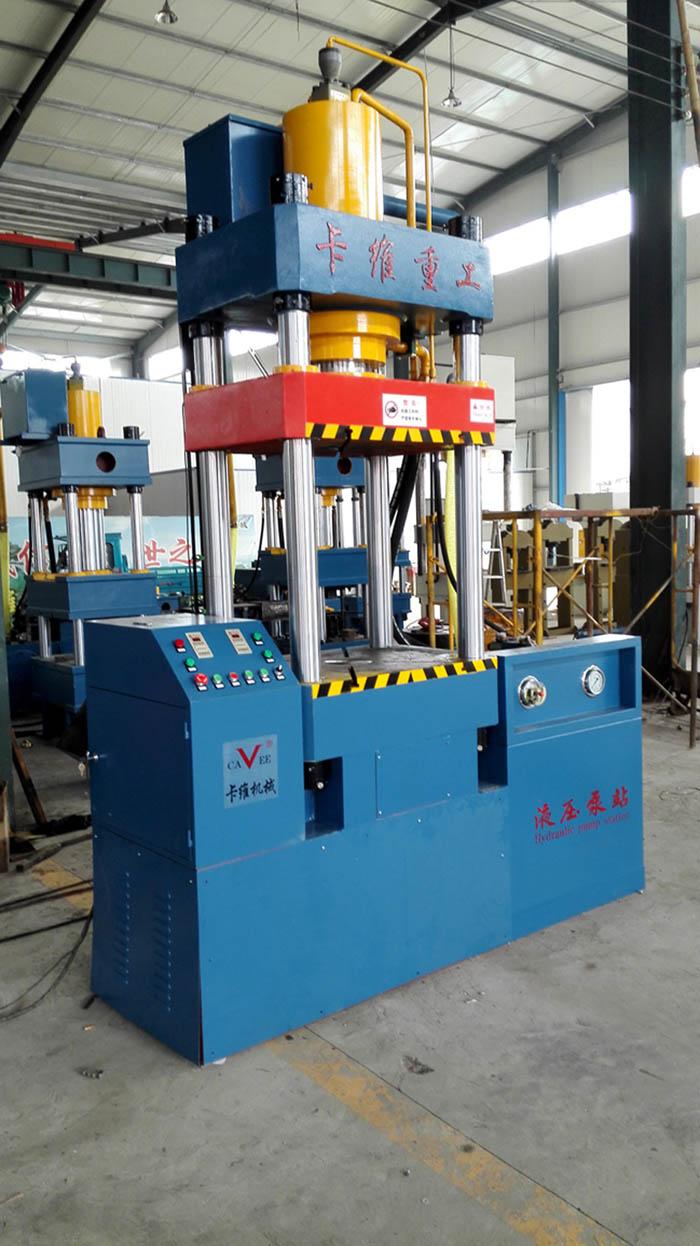 160吨连体四柱液压机