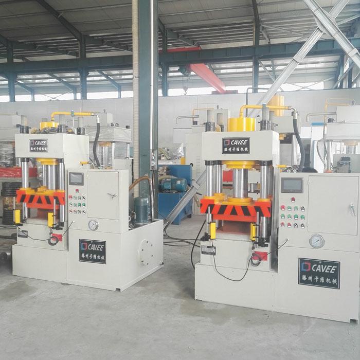 100吨四柱液压机(带加热板)