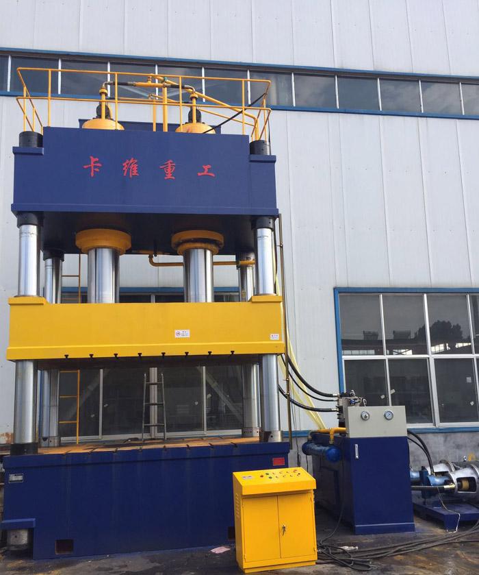 1000吨化粪池液压机